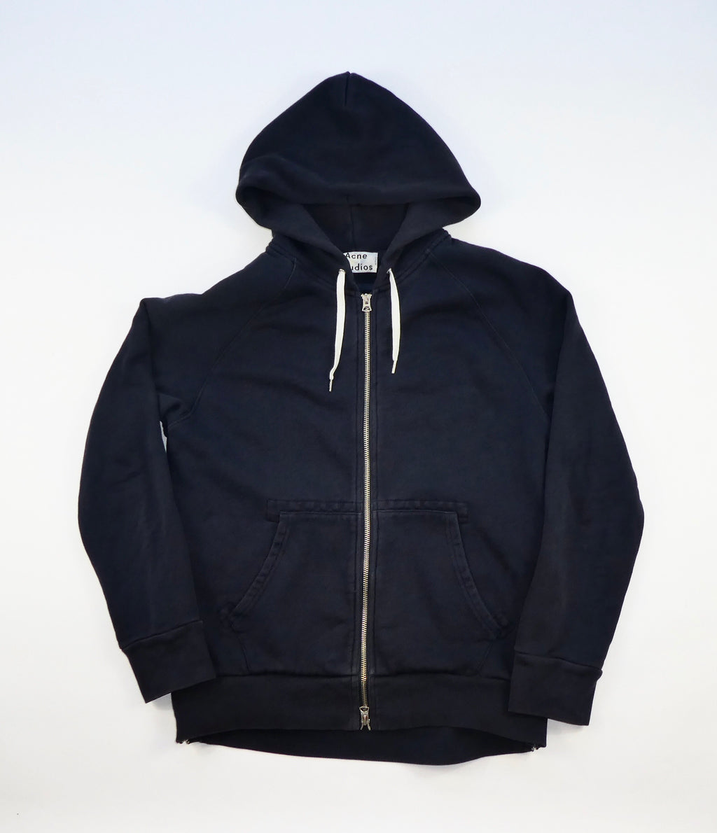 Acne Studios Justin Hoodie With Side Zips