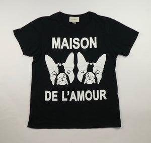 Gucci Maison De L'amour T Shirt - Medium