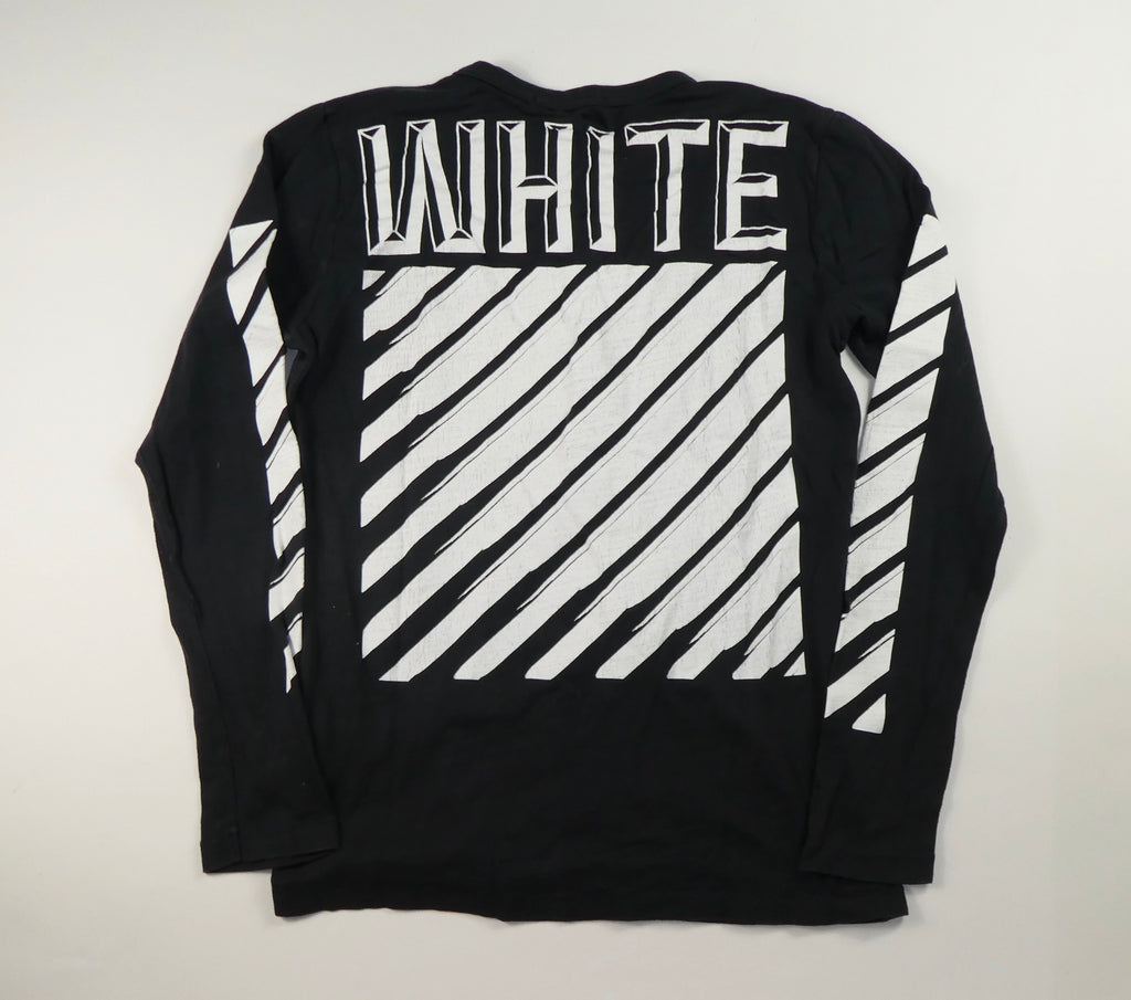 Off White OG Long Sleeve T Shirt - Small