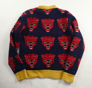 Gucci Jacquard Tiger Knit Jumper - Small