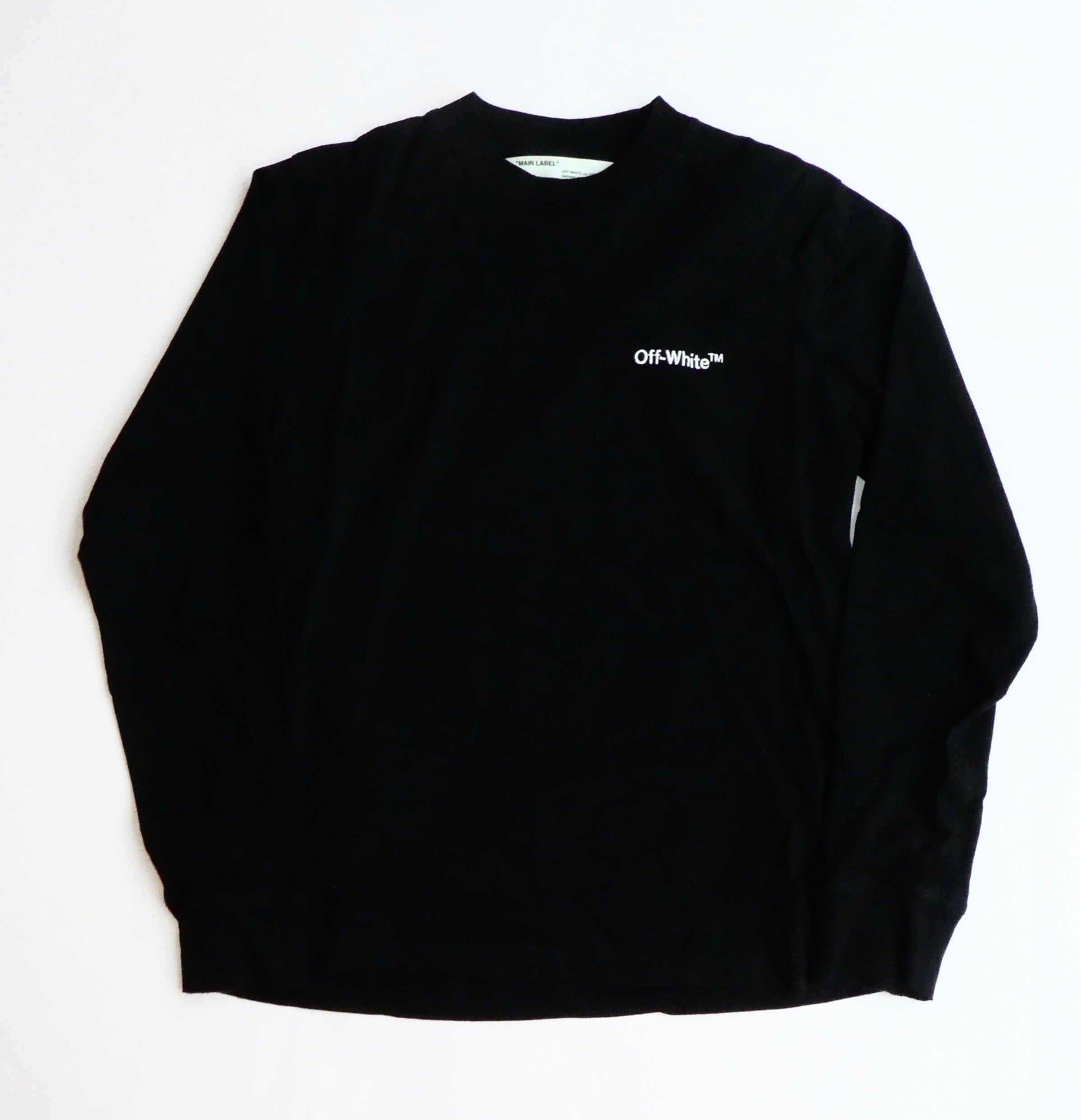 Off White Classic Logo Longsleeve T Shirt - Small