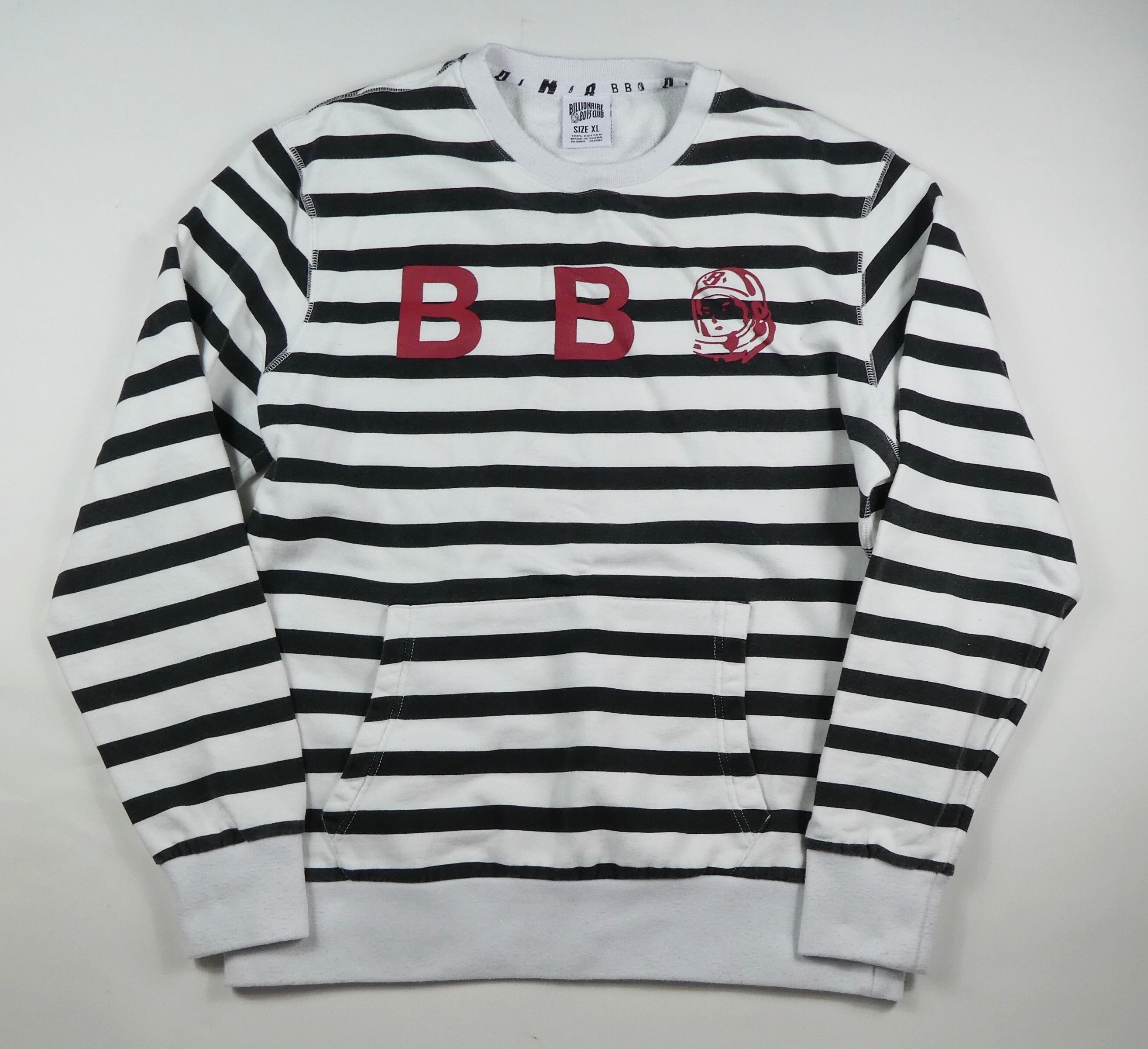Billionaire Boys Club Striped Sweatshirt - XL