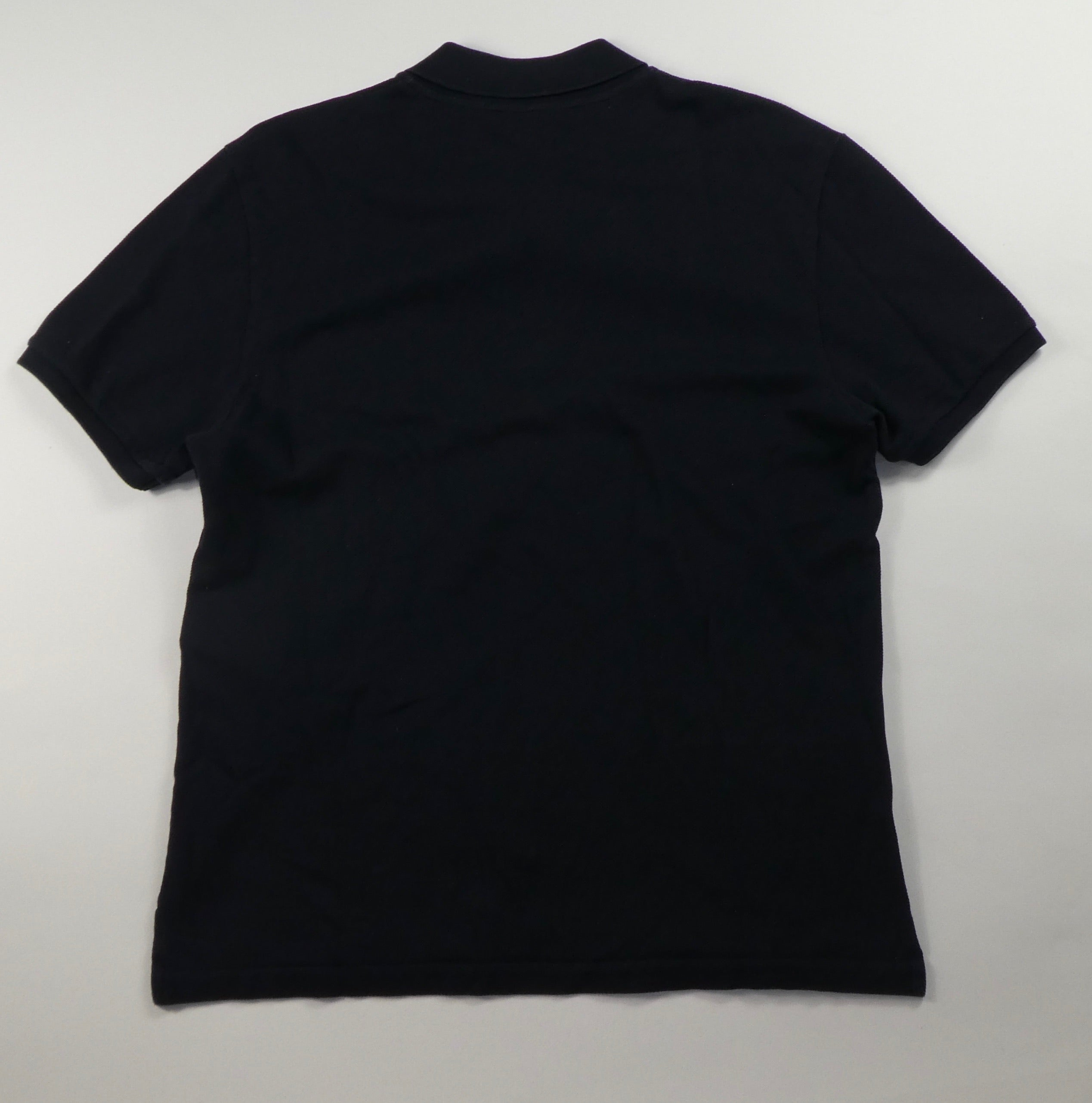 Gucci Bee Crest Polo Shirt (Navy)- Large