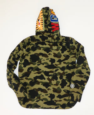 Bape Shark Hooded Shirt