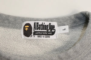 Bape Spell Out Logo Sweatshirt - Large