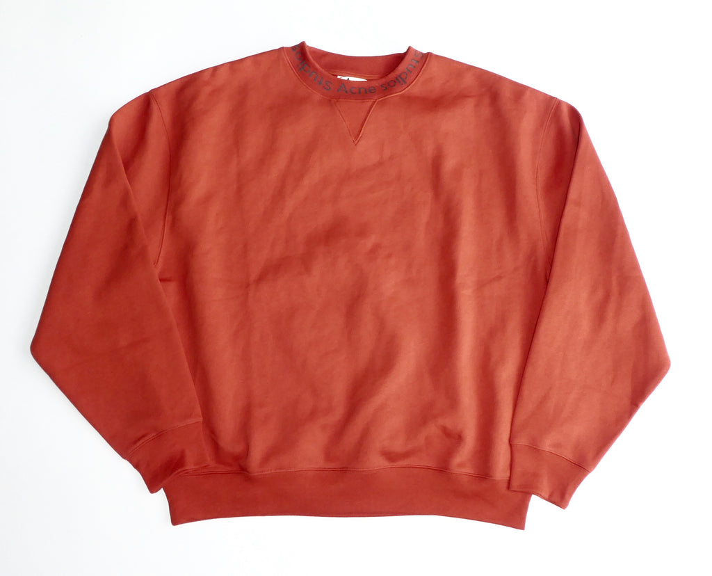 Acne Studios Flogho Logo Sweatshirt - Medium