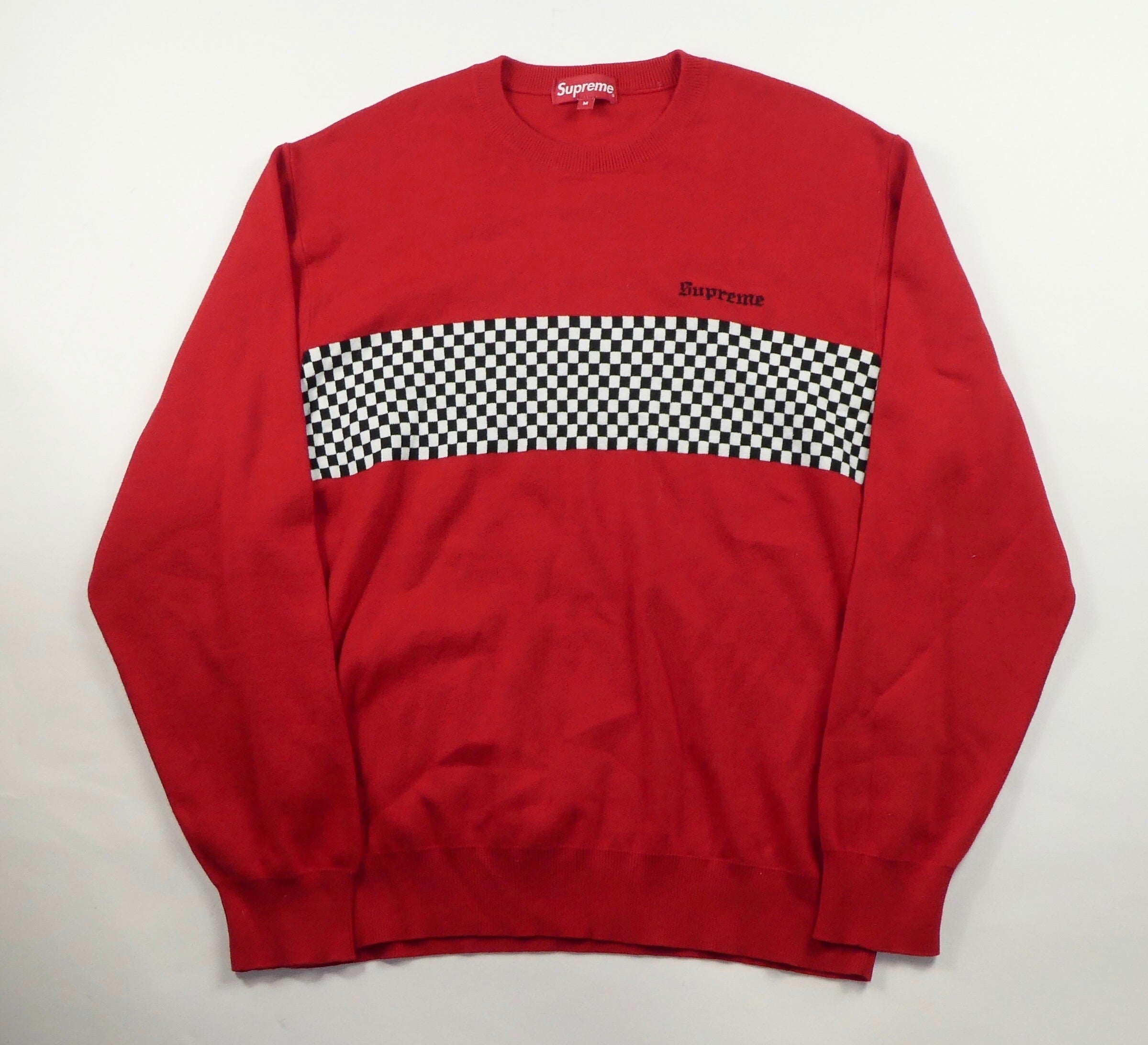 Supreme Checkerboard Jumper - Medium