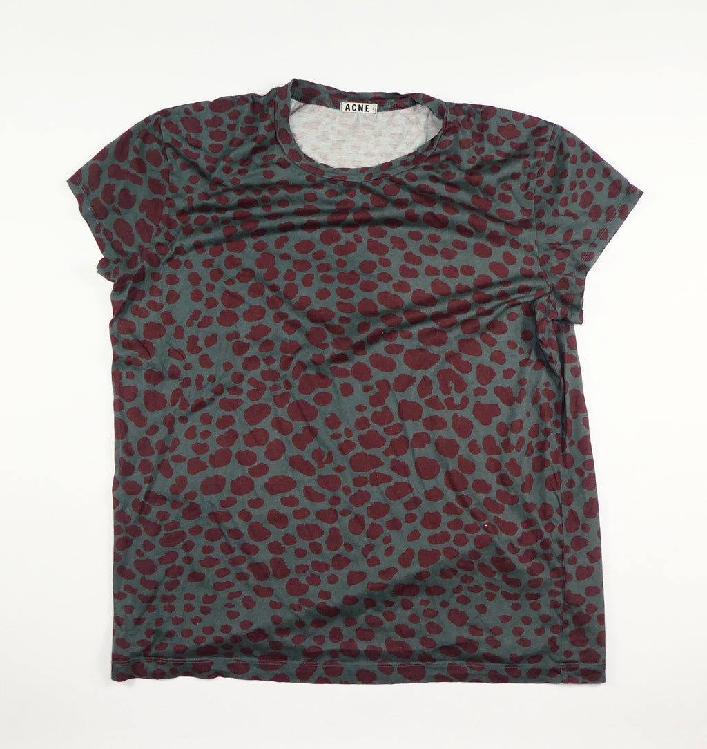 Acne Leopard T Shirt - XL