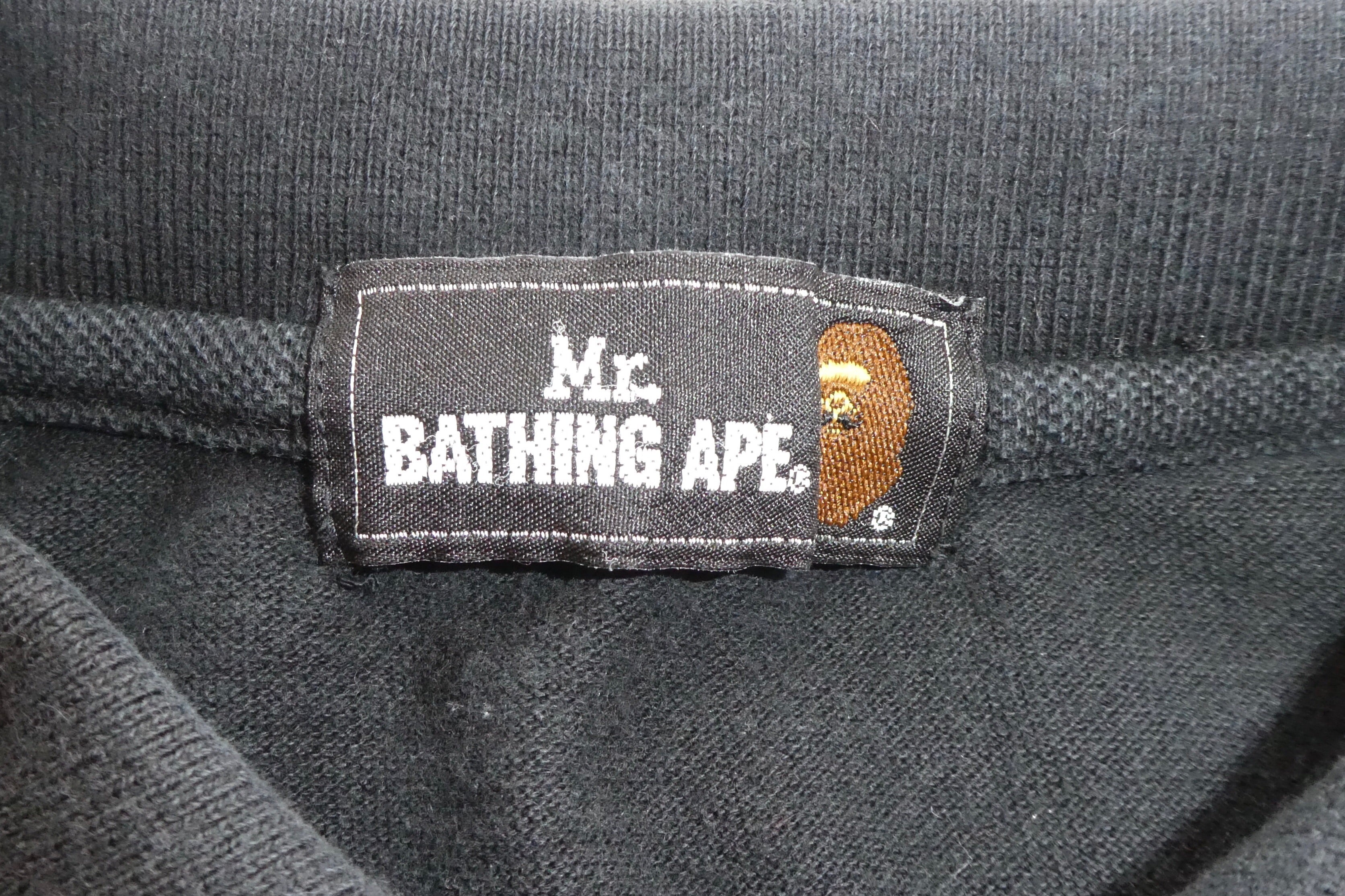 Bape Mr Bathing Ape Camo Polo Shirt - Small