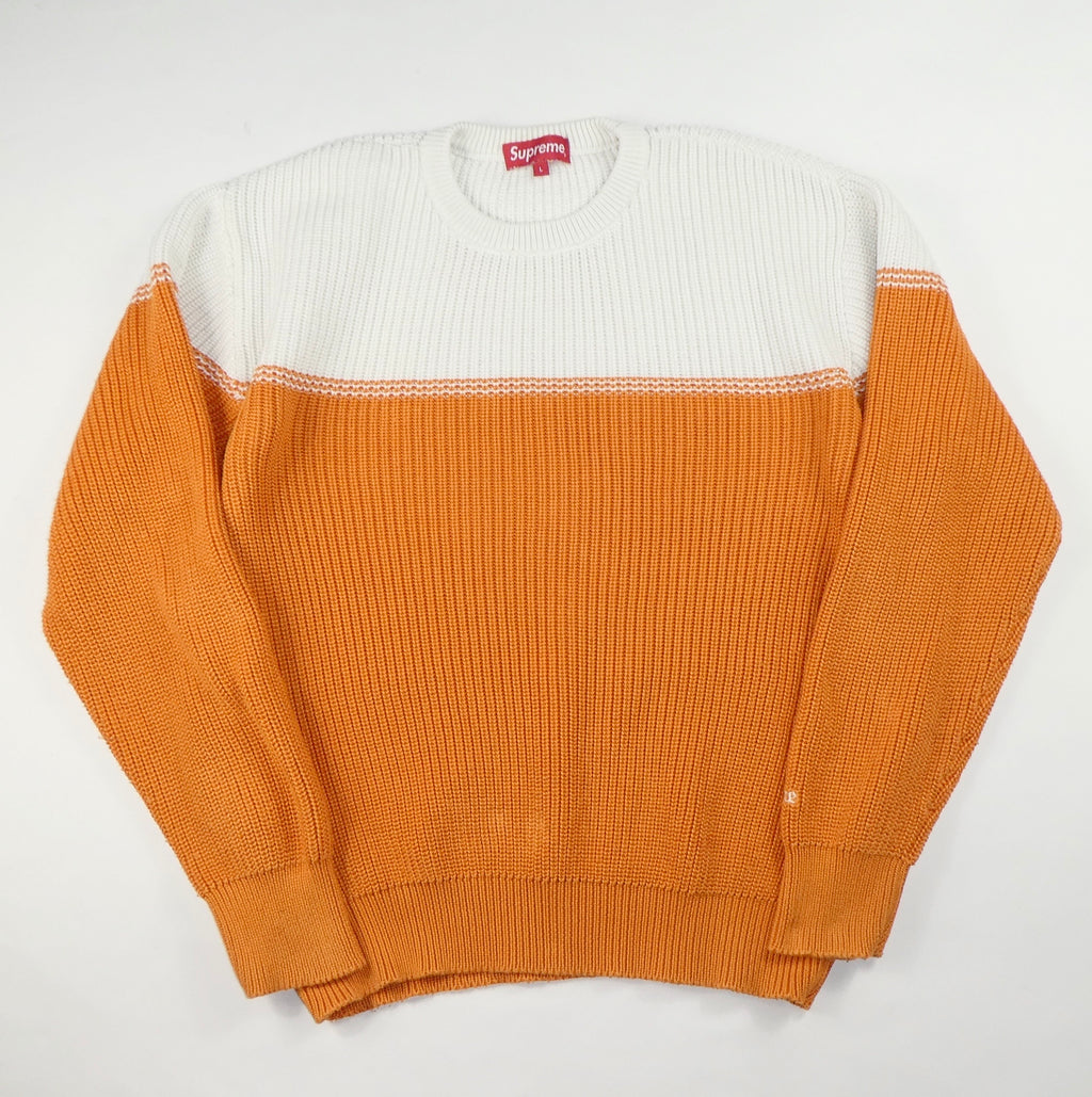 Supreme Split Knit Jumper - Large