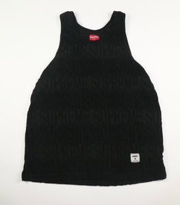 Supreme Terry Embossed Logo Vest