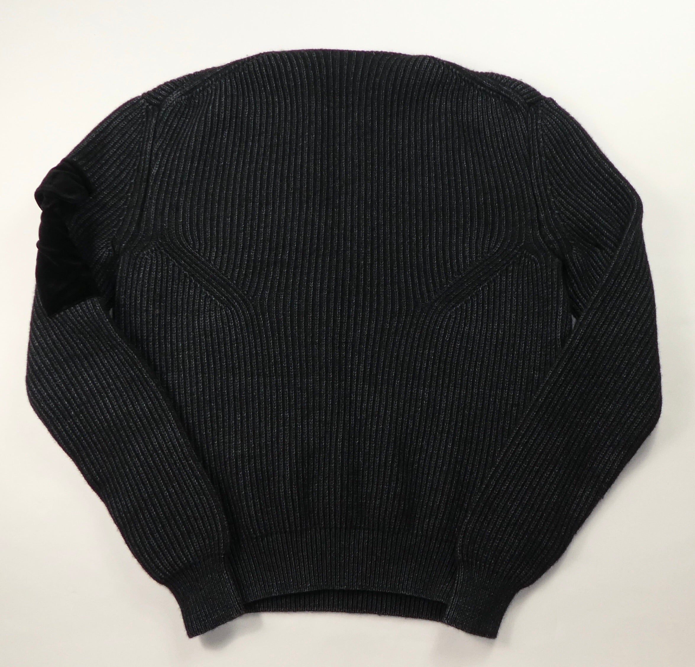 Off White Patch Knit Jumper - Small