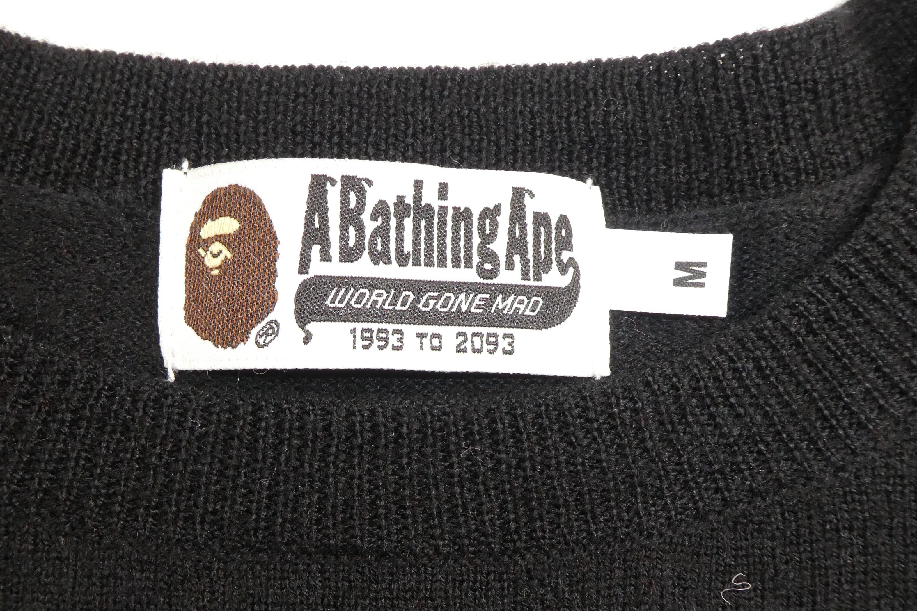 Bape Wool Knit Crewneck - Medium