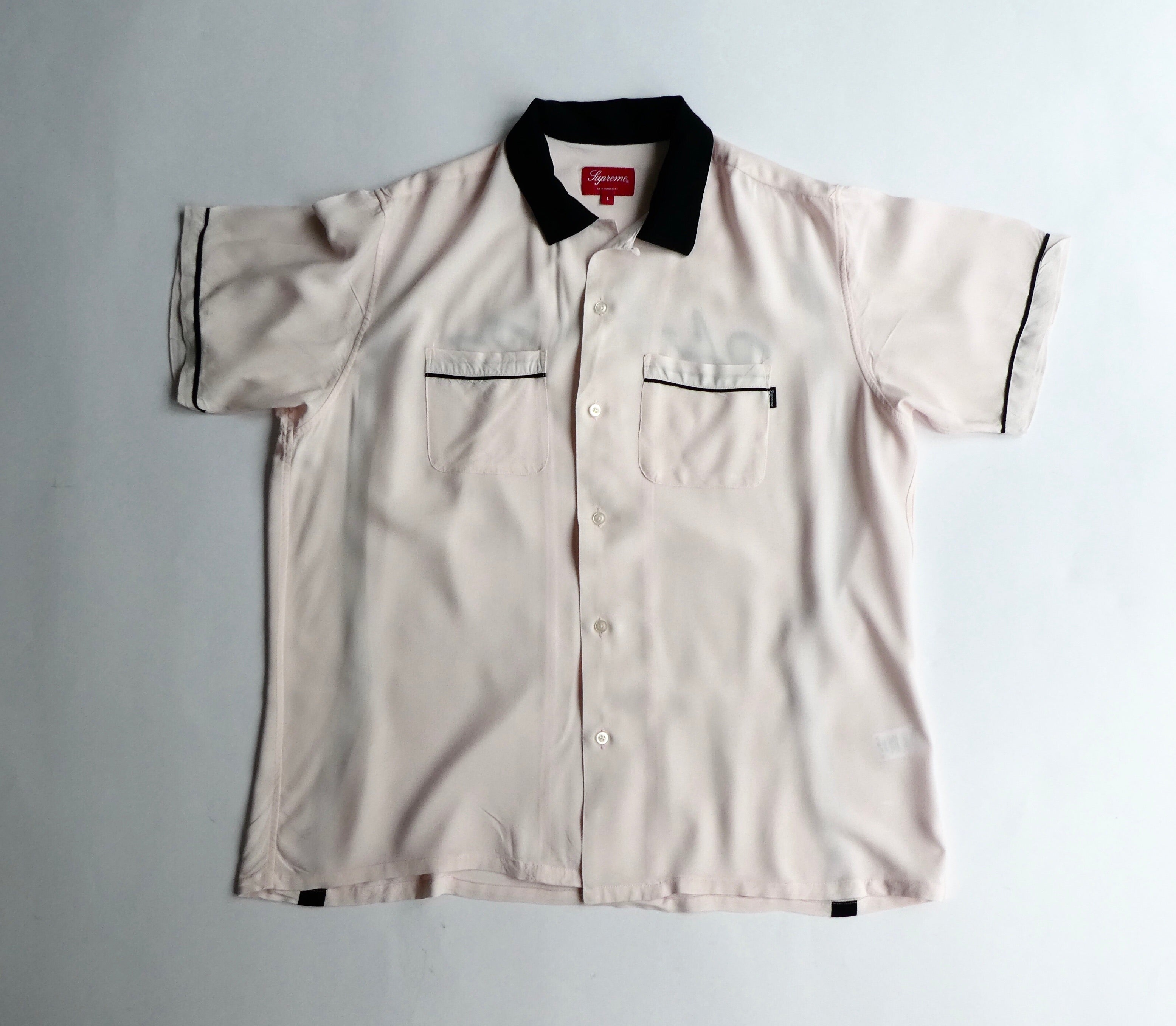 Supreme x Playboy Rayon Bowling Shirt - large