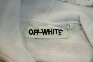 Off White College Logo Hoodie - Medium