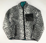 Supreme Reversible Leopard Fleece Jacket - Medium