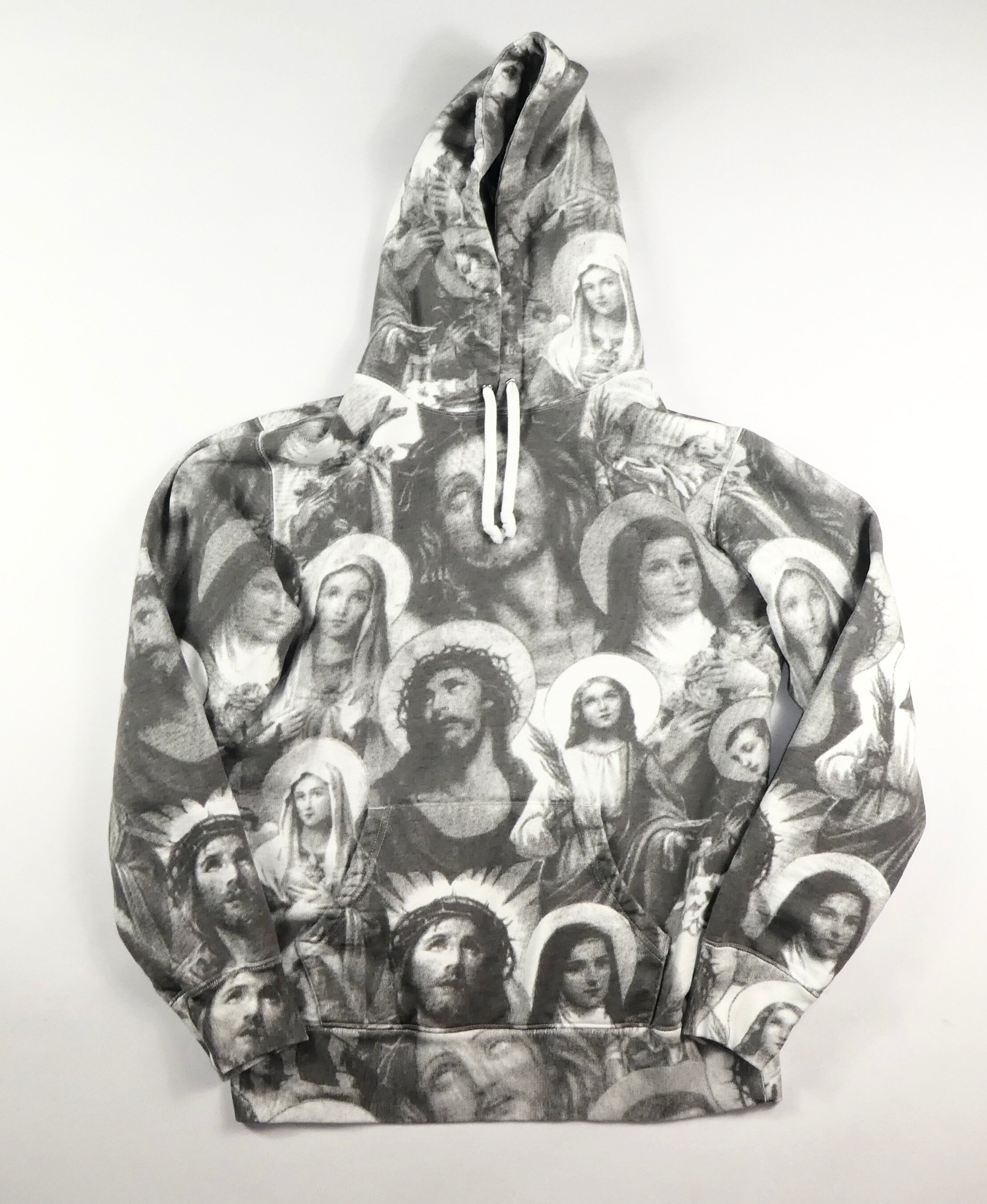 Supreme Mary and Jesus Hoodie