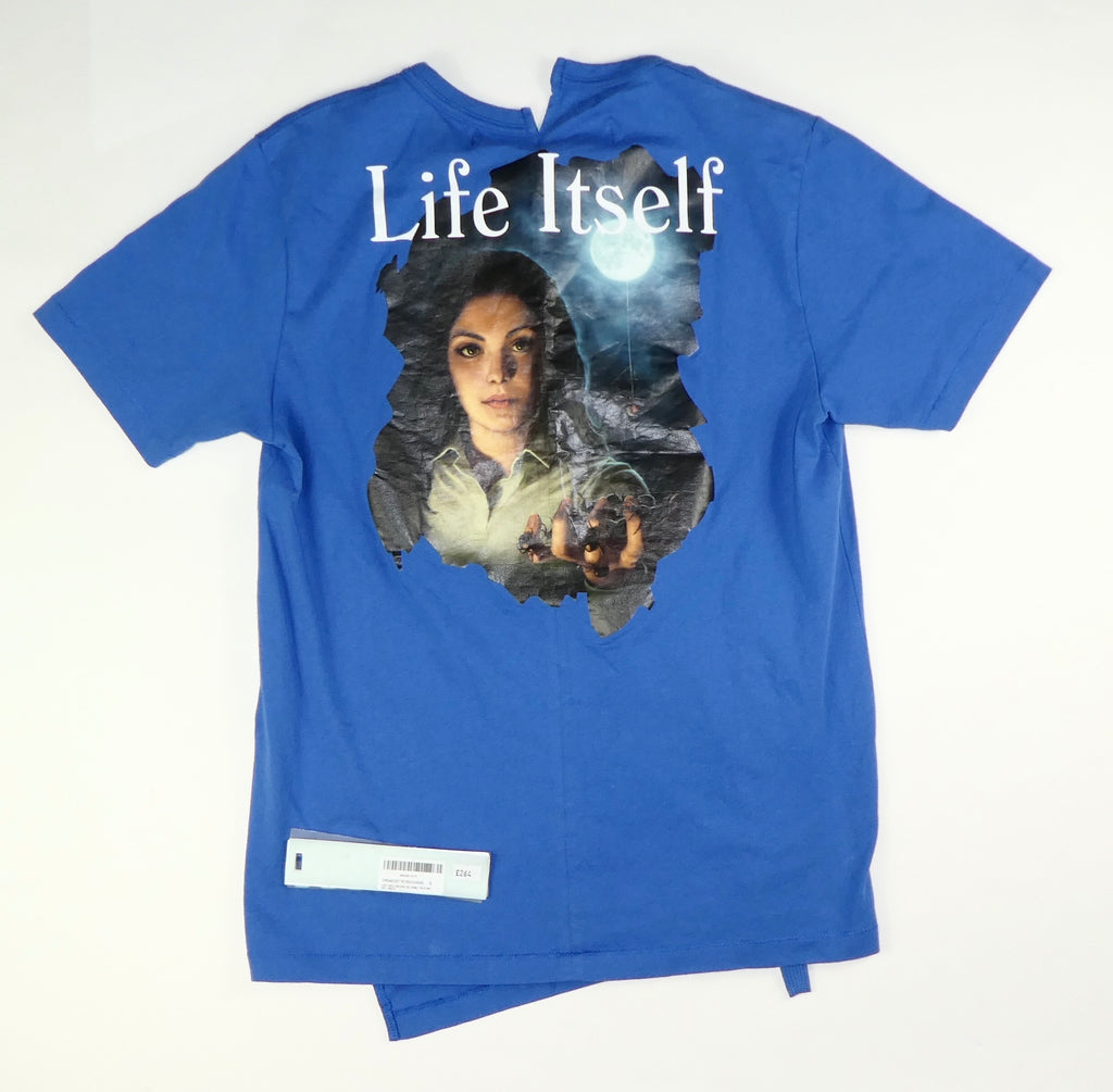 Off White Life Itself T Shirt - Small