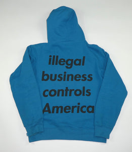 Supreme Illegal Business Controls America Hoodie