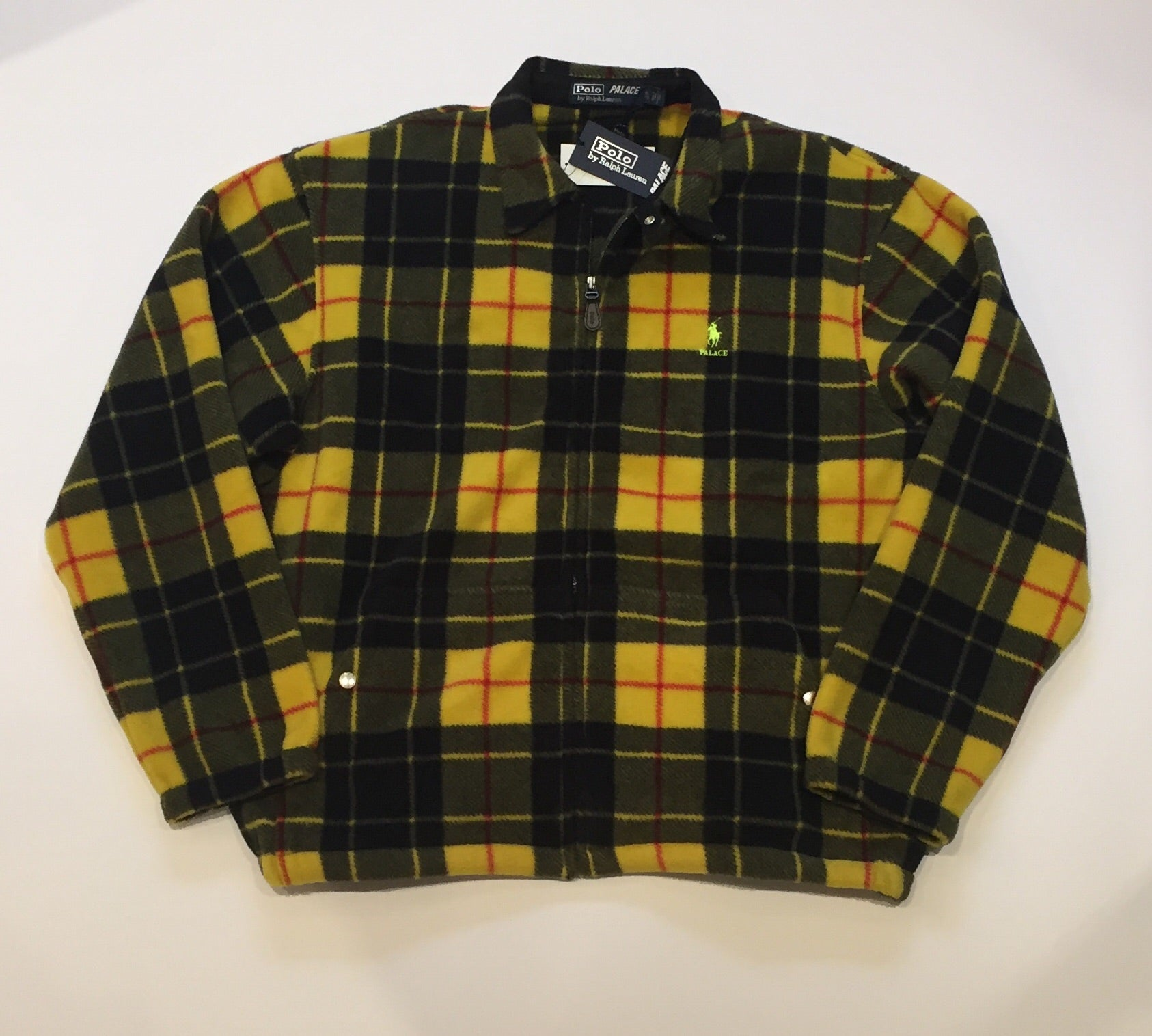 Palace x Ralph Lauren Polar Fleece Harrington
