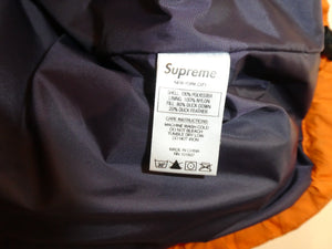 Supreme Gradient Arc Logo Puffer Jacket