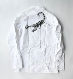 Off White Virgil Abloh Othelo Scorpion Shirt - Small