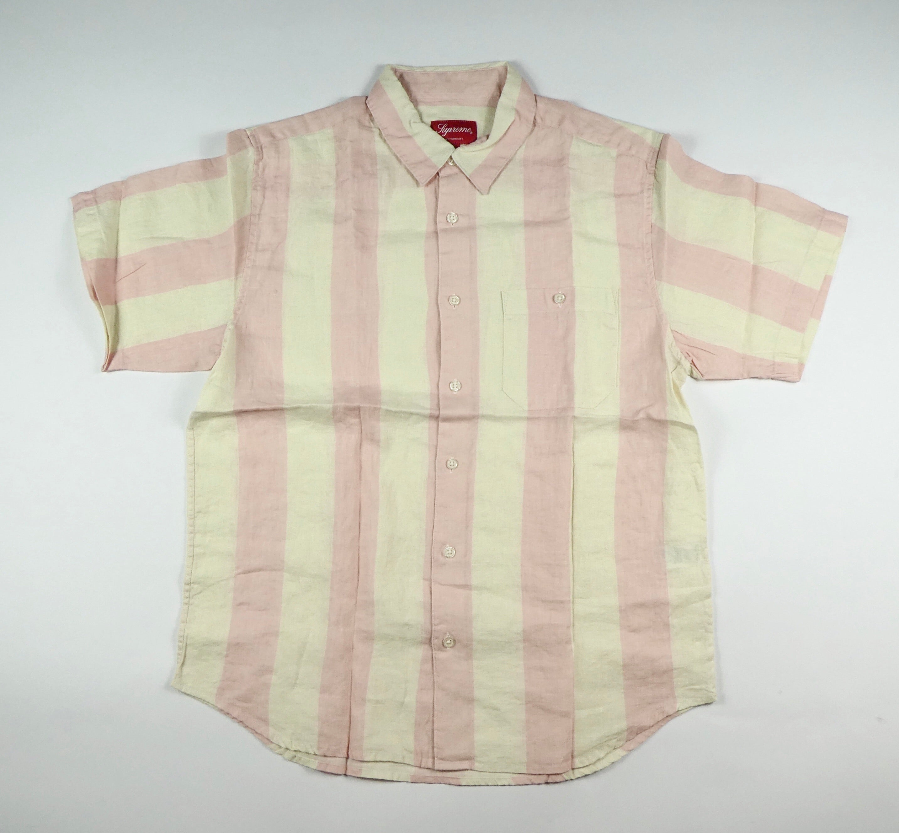 Supreme Wide Stripe Shirt - Medium