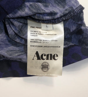 Acne Leopard T Shirt - Large