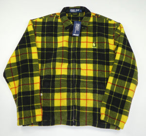 Palace x Ralph Lauren Plaid Harrington Fleece Jacket