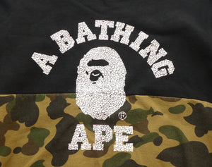 Bape Cracked College Logo Sweatshirt - XL