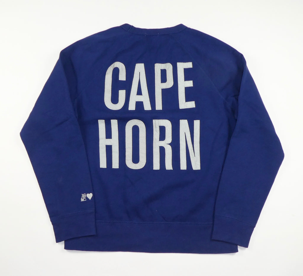 Acne Studios College Cape Horn Crewneck Sweatshirt - Large