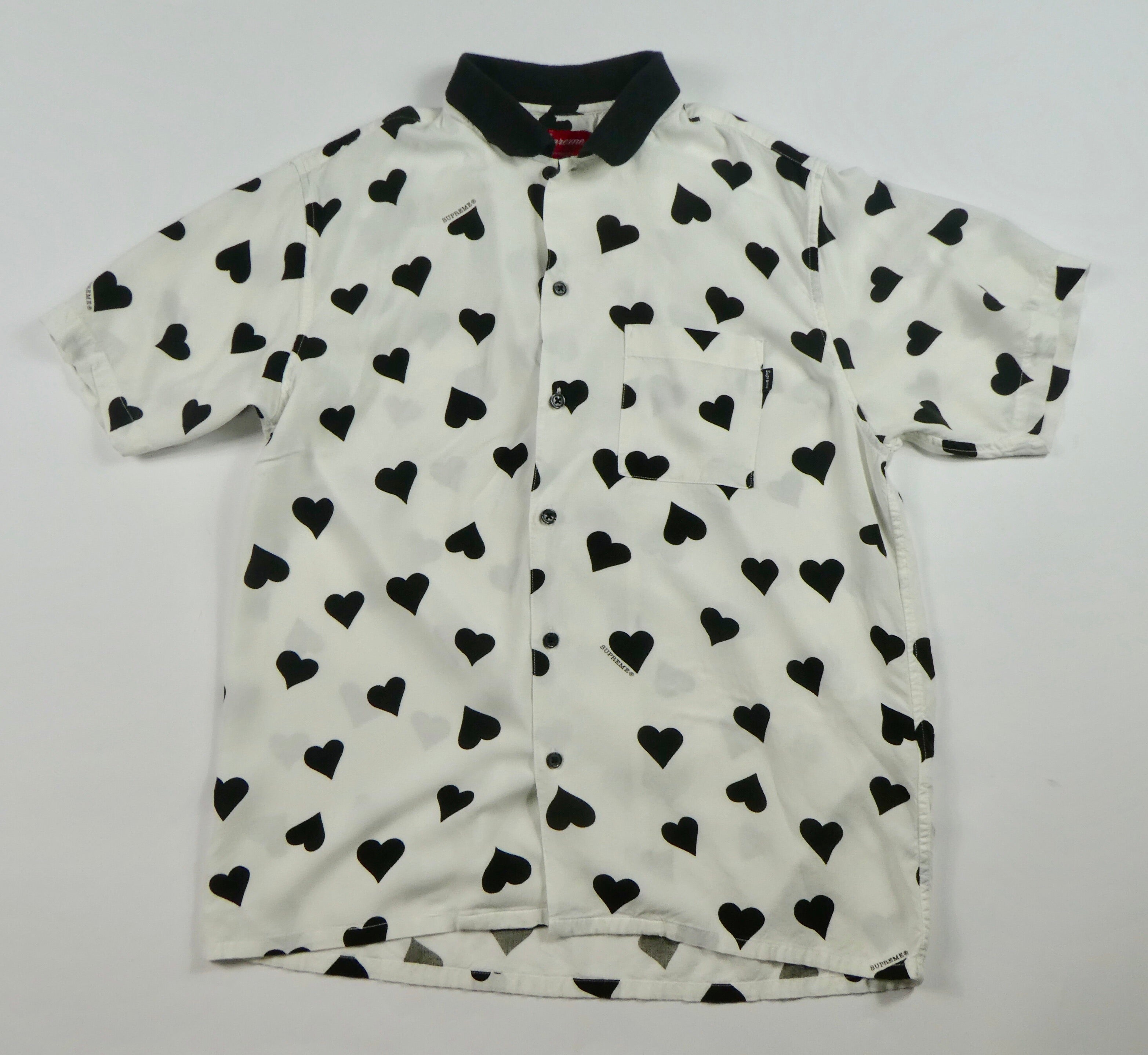 Supreme Hearts Rayon Shirt