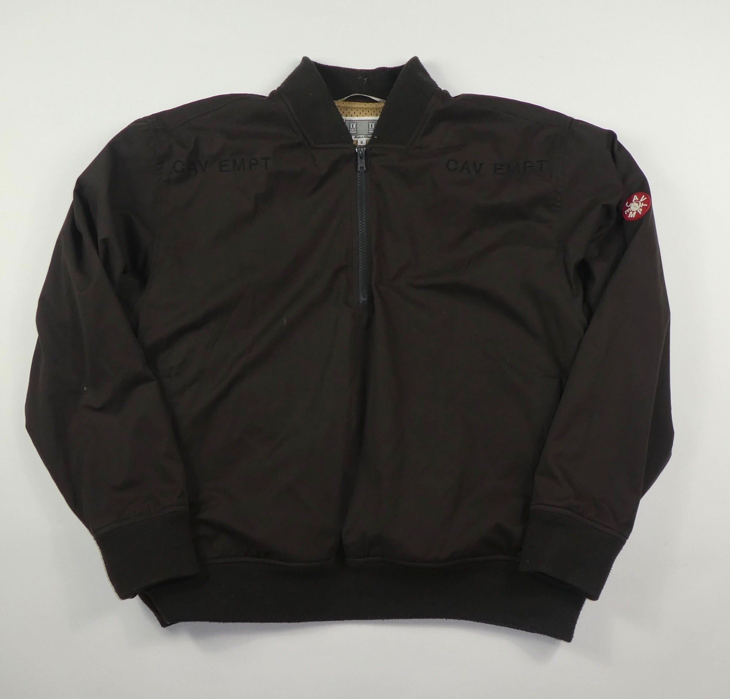 Cav Empt Half Zip Bomber Jacket - Small