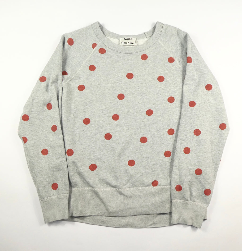 Acne Studios Polka Dot Sweatshirt - Large