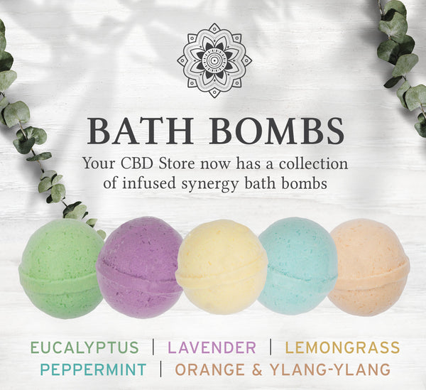 Your CBD Store Bath Bombs flavors