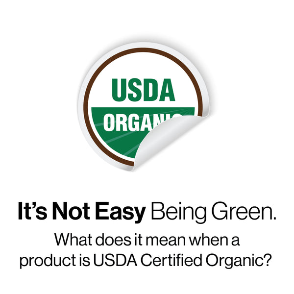 its not easy being green what does it mean when your USDA your CBD Sore