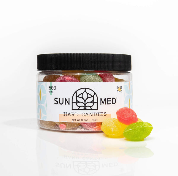 Sunmed Hard Candies CBD 500 mg total