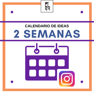 Calendario Instagram 2 semanas