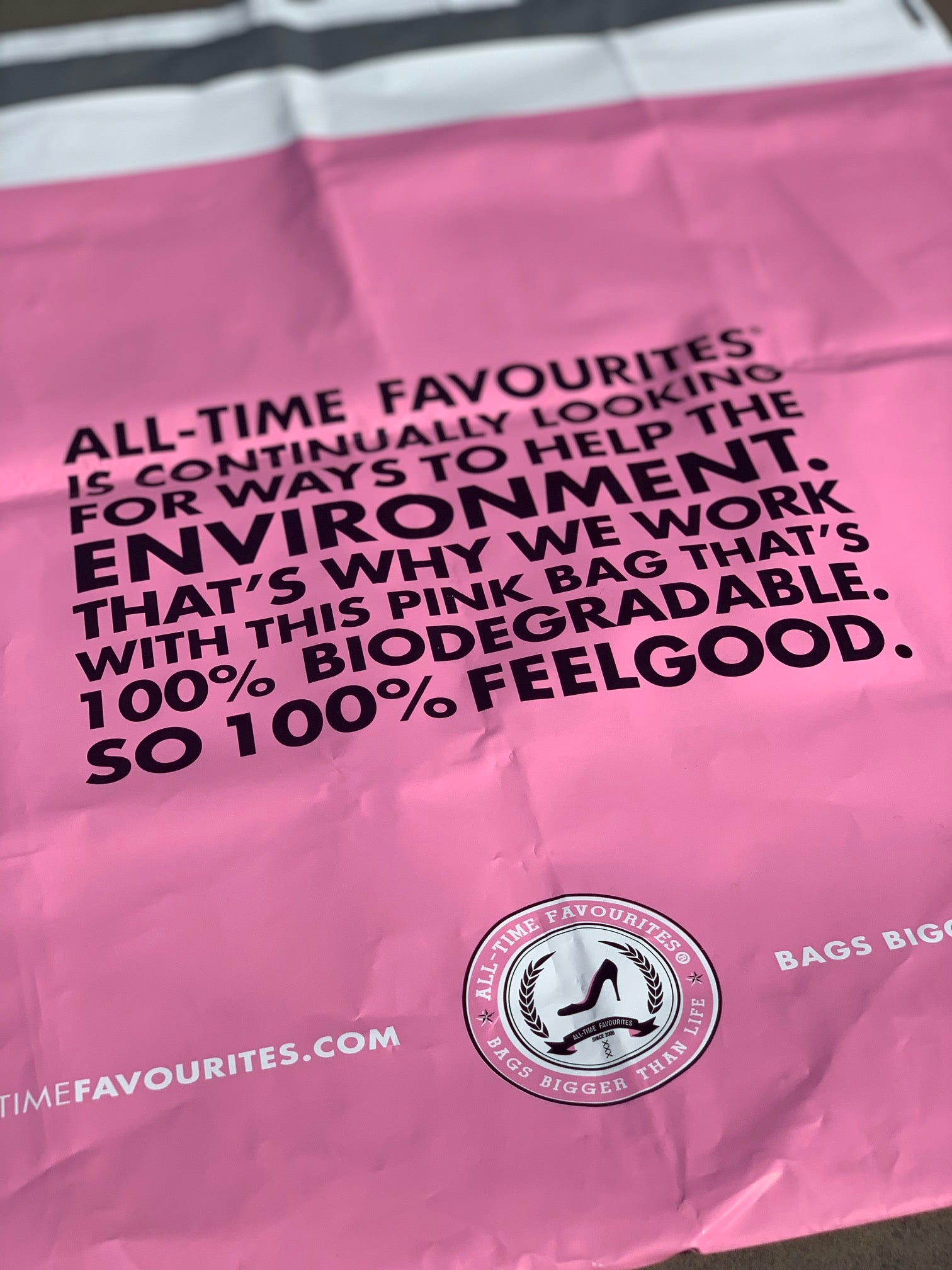 All-time Favourites Bags bigger than life