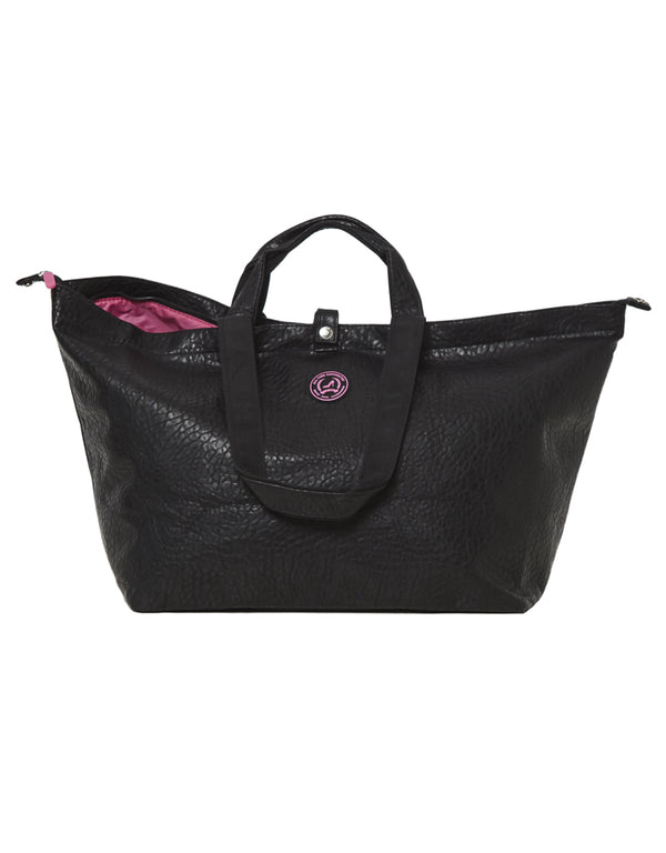 Kleine shopper croco black