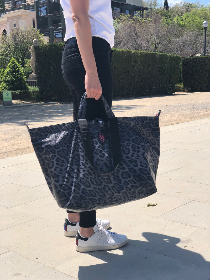 Kleine shopper luipaard grijs All-time Favourites