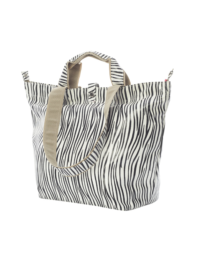 Small shopper zebra print
