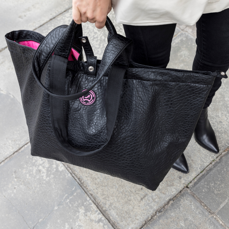 Kleine shopper croco zwart All-time Favourites