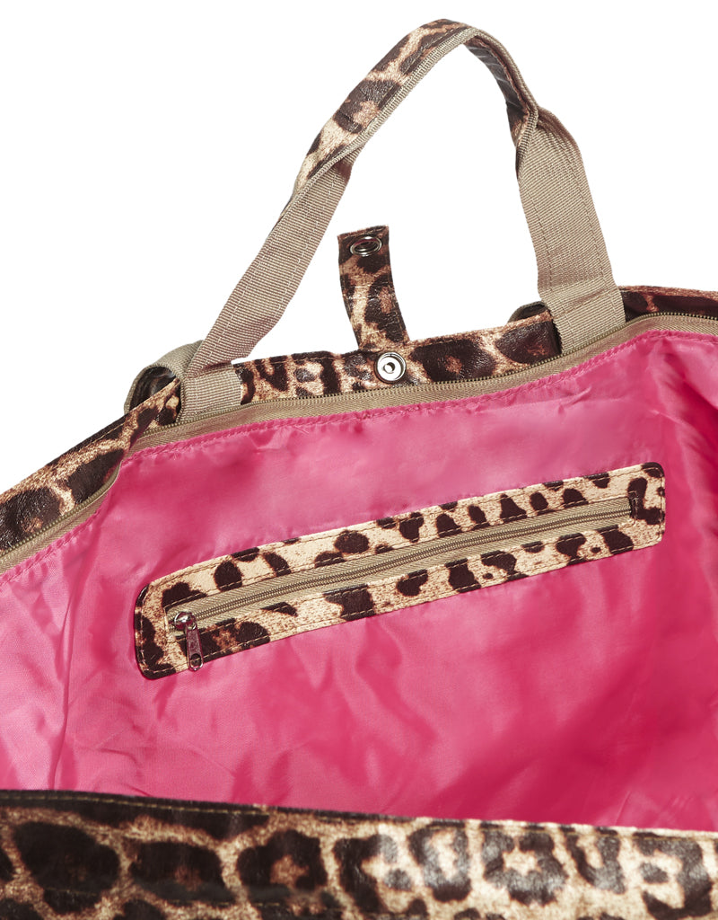 grote strandtas met rits grote shopper panter All-time Favourites