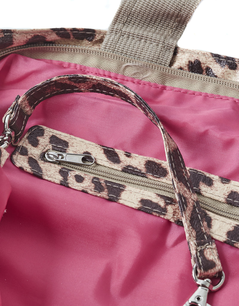 tiger print bag leopard small