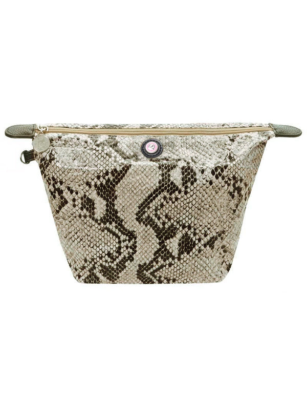 Cosmetics Bag Python Naturel