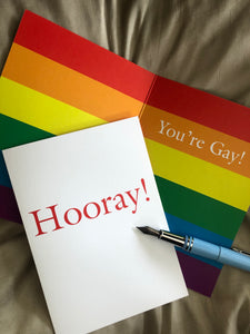 Hooray! You're gay!
