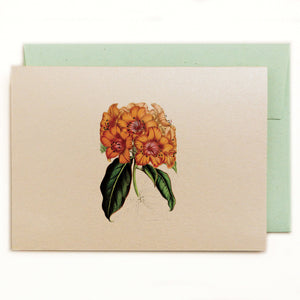Rhododendron Notecard