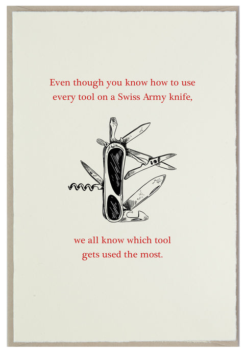 Swiss Army Knife Master