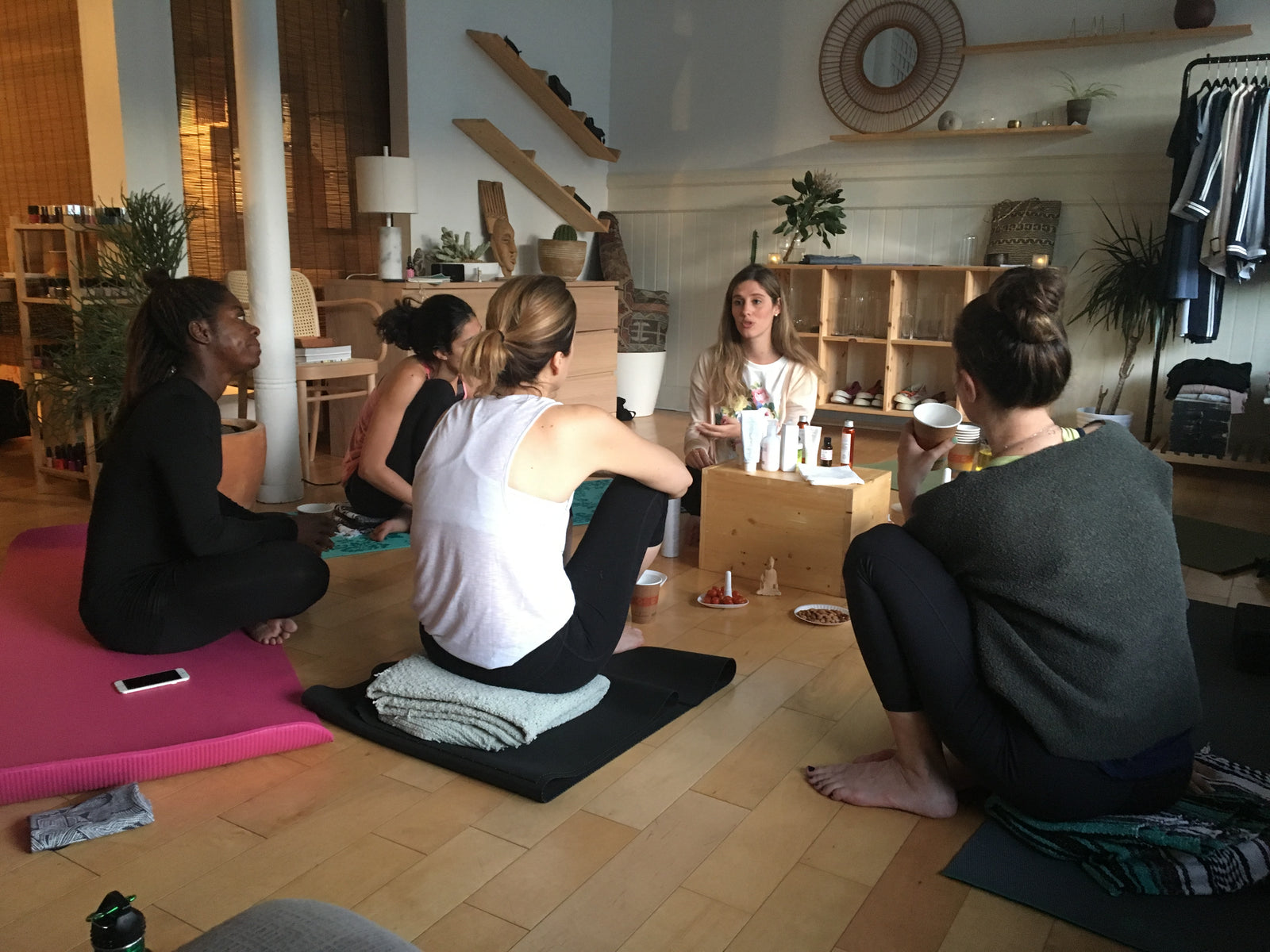Yoga & Skincare Workshop